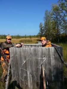 Bröderna Andersson vid pass A 63 Kommunvägen