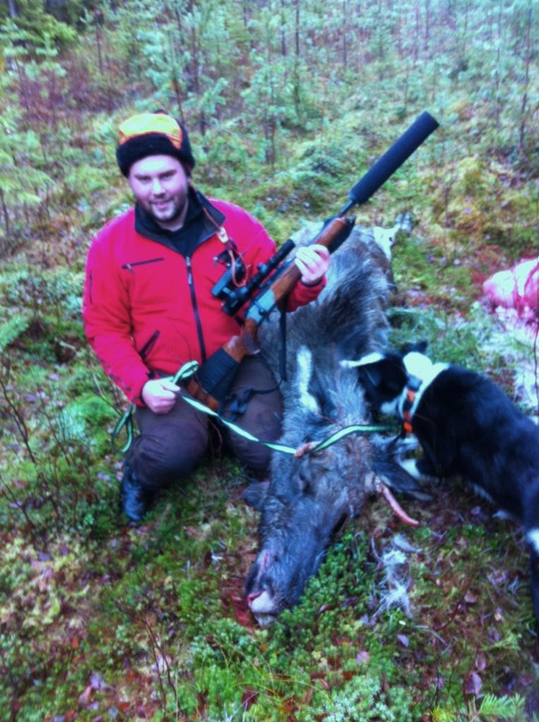 Mattias Eriksson lycklig skytt