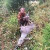 Ema och Alv och skjuten kalv